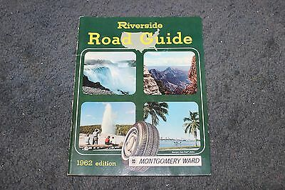 1962 Montgomery Ward Riverside Road Atlas and Travel Guide 1962 edition