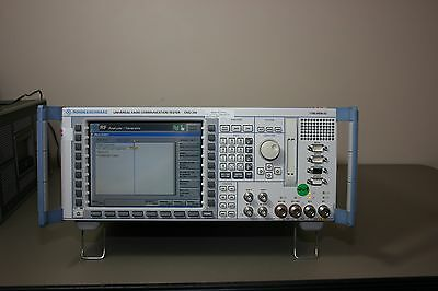Rohde Schwarz CMU200 GSM, WCDMA, Audio, Bluetooth, WB AMR, Calibrated & Warranty