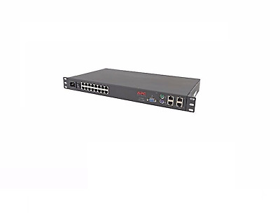 Apc Ap4501 16-Port Cat5 Analog Kvm Switch Networking Console Port Keyboard Mouse