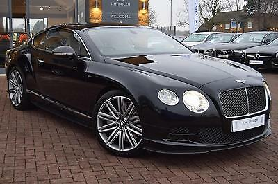 2012 Bentley Continental GT SPEED Petrol black Automatic