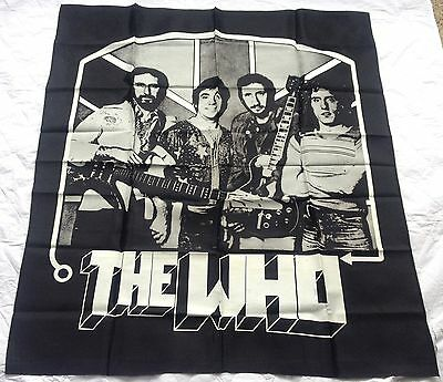 """The Who Version 2,  Cloth Music Banner 38"""" X 54"""" (660)"""