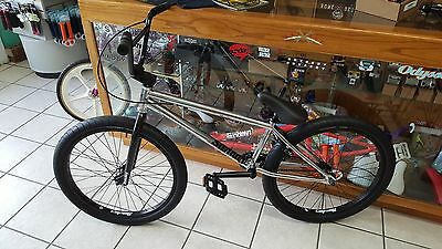 Just Released *2017 Sunday Model C* 24in Cruiser BMX Bike* Chrome and Black