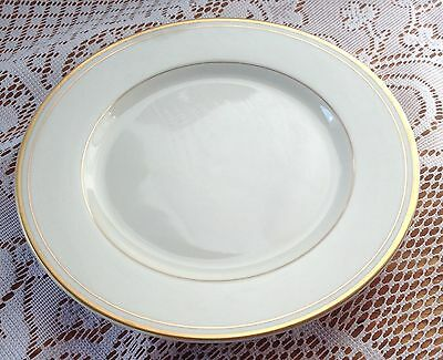 """7 Fitz & Floyd """"Palais"""" Bread/Butter Plates Ivory with Gold 6 1/2 inches (497)"""