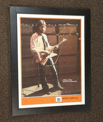 Eric Clapton Framed Poster MUSIC MAN IN CONCERT
