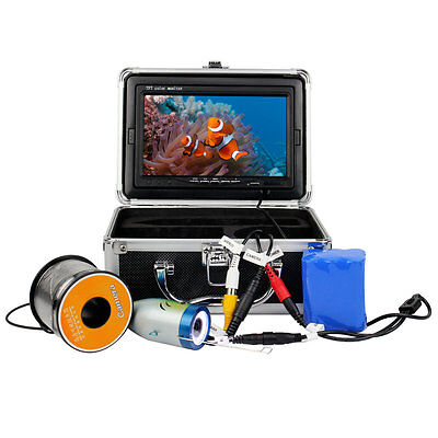 "50M Underwater Fishing 7"" TFT LCD Video Camera System Fish Finder Monitor1000TVL"