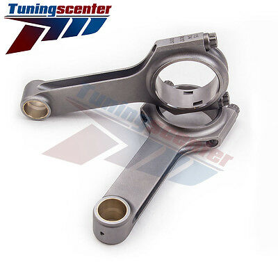 Bielle per Fiat 500 Old Model 2 Cylinder 130mm ARP2000 Bulloni Connecting Rods
