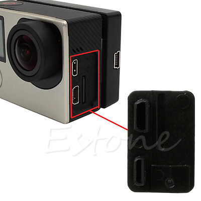 Replacement USB Side Door Cover Case Cap Repair Part For GoPro Hero 3 + 3 4