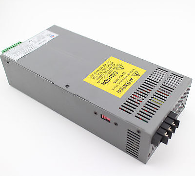 1000W Single Output DC24V 40A Switching Power Supply 85% Efficiency SCN-1000-24
