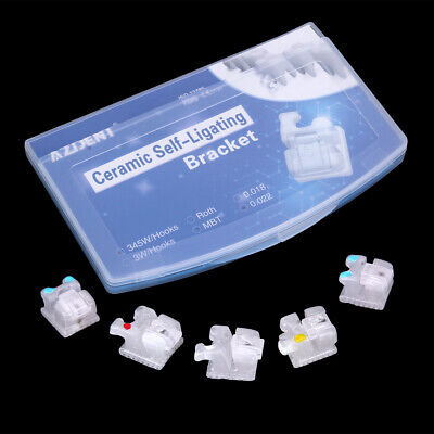 50Pack Dental Buccal Tube With Bands 1st Molar Roth 022 Orthodontic U1/L1