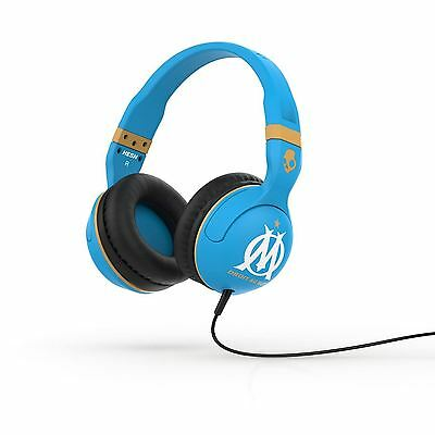 Skullcandy Hesh 2.0 On Ear Marseille Olympique Blue Gold Headphones New Sealed
