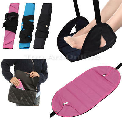 Portable Airplane Footrest Lightweight Travel Foot Rest comfortable mat Buses