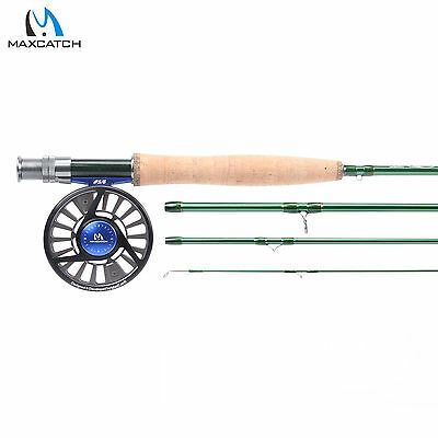 Maxcatch Fly Fishing Combo LW5 9' 4Sec Fast Action IM10 Fly Rod & Fly Reel