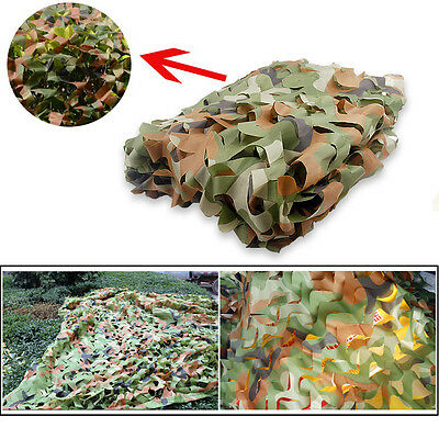 Camouflage Netting Camo Net Sunshade Camping Shooting Kids Play Nets Cover