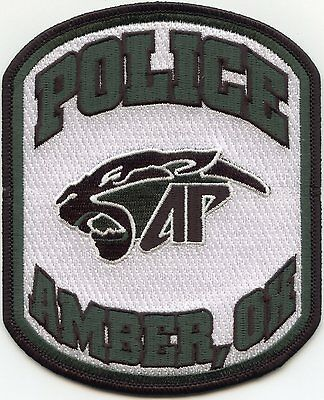 new style AMBER OKLAHOMA OK POLICE PATCH