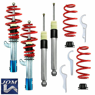 JOM VW EOS Beetle A5 Height Adjustable Coilover Suspension Lowering Kit R Line -