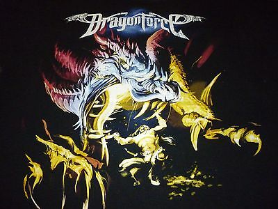 Dragonforce Tour Shirt ( Used Size XL ) Very Good Condition!!!