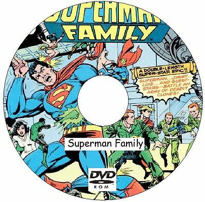 Superman Family Comic Collection 59 Issues from 1974 - 1982 on DVD