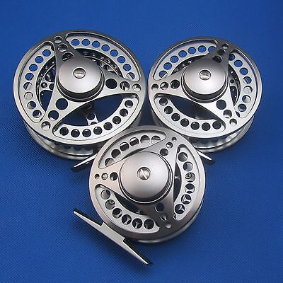 3/4 5/6 7/8 CNC Machined Aluminum Fly Fishing Reel Adjustable Disc Drag