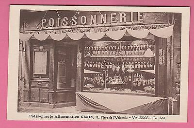 26 - VALENCE - Poissonnerie Alimentation GENIN, 11 place de l'Université