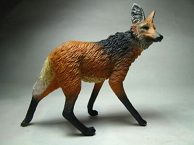 2013 Collecta Animal Toy / Figure Maned Wolf