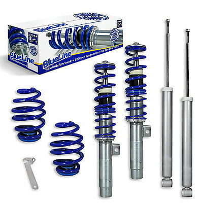 JOM BMW 3 Series E46 Euro Height Adjustable Coilover Suspension Lowering Kit -