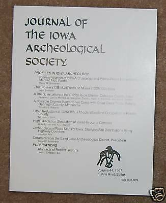 Iowa Archaeological Soc. Journal-Volume 44-1997