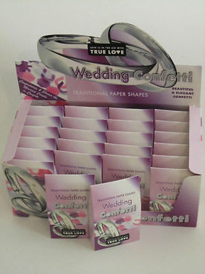 Wedding Confetti X 24 Individual Boxes ****  Free UK Delivery  ****