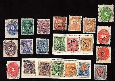 Stamps ~ MEXICO ~ Mixture Unsorted EARLY
