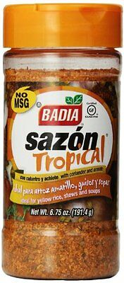 Badia Sazon Tropical with Annato & Corlander, 6.75-Ounce (Pack of 6)