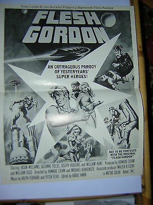 Flesh Gordon X Pressbook   1974