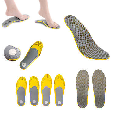 Premium Unisex Orthotic Shoes Insoles Insert High Arch Support Pad Inner Sole