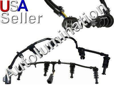 6.4L Powerstroke Glow Plug Harness 08-10 Ford Diesel 6.4 Right and Left