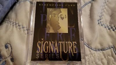 1996 Sports Time - The Beatles Signature Rare Gold Redemption Card - John Lennon
