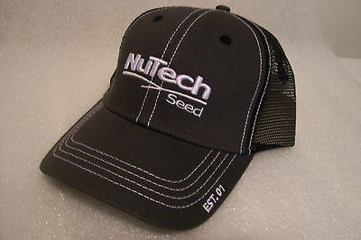 Brand New NuTech Seed Hat / Cap / Sign / Adjustable