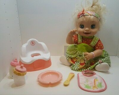 Baby Alive soft face doll 2007 With Accessories. Potty, spoon