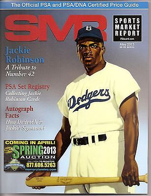 SPORTS MARKET REPORT, PSA PRICE GUIDE, May 2013 - Jackie Robinson