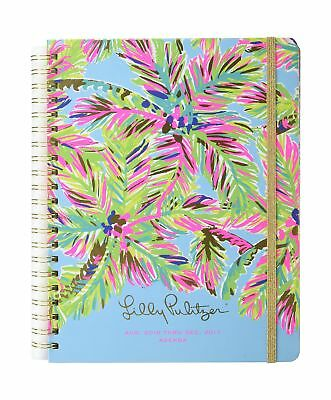Lilly Pulitzer 2017 17 Month Agenda - Island Time Jumbo NEW 2-Day Shipping
