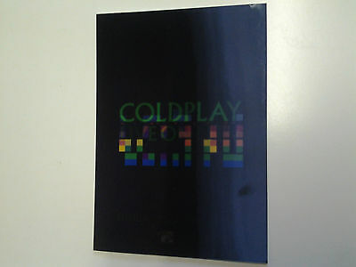 Coldplay Live ON MTV X&Y Lenticular Postcard - rare