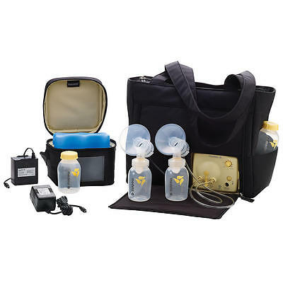 Medela Electric Breast Pump In Style Advanced On-the-Go Tote Bag SEALED 57063
