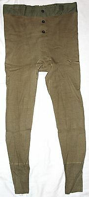 Mint, Unissued Wwii Winter Drawers, Long Underwear, Size 34, 1945 Dated