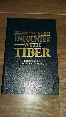 """Authentic Signed Buzz Aldrin """" Encounter The Tiber Deluxe Edition """" Real Sig,coa"""