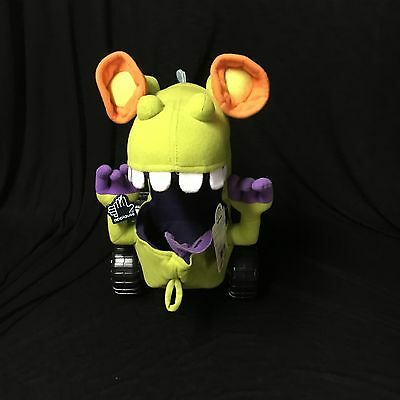 """Nickelodeon Rugrats Reptar Vehicle Applause 12"""" Stuffed Plush W/ Tags Free S/h"""