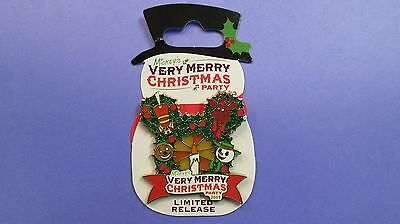 Walt Disney World 2009 Mickey's Very Merry Christmas Party Pin - Limited Release