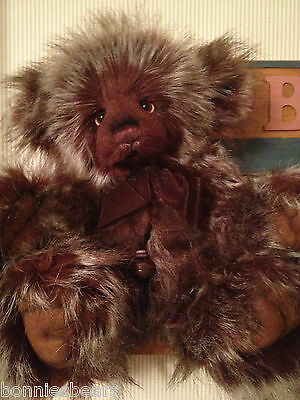 """Charlie Bears 2012 Part 2 Plush MULBERRY 18"""" BRAND NEW WITH BAG"""