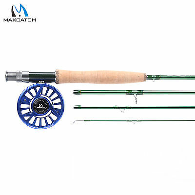 Maxcatch LW5 Fly Fishing Combo 9' 4Sec Fast Action IM10 Fly Rod & Fly Reel