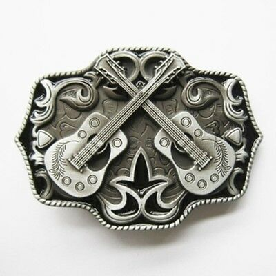 Country Guitars -  Removable Belt Buckle