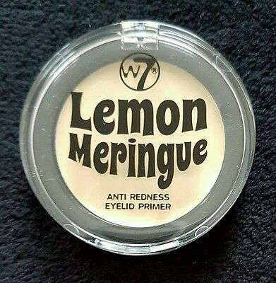 W7 Lemon Meringue- Anti Redness Eyelid Powder 2G + Free Postage