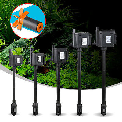 Aquarium Internal Filter 3 in 1 Fish Tank 350-1800L/h Submersible Water Pumps