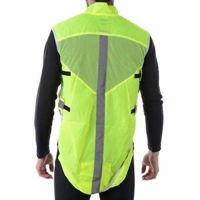 Craft Bike Visibility Vest Size: M/L (Neon)
