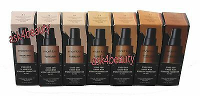 Smashbox Studio Skin 15 Hour Foundation Choose Shade Nib